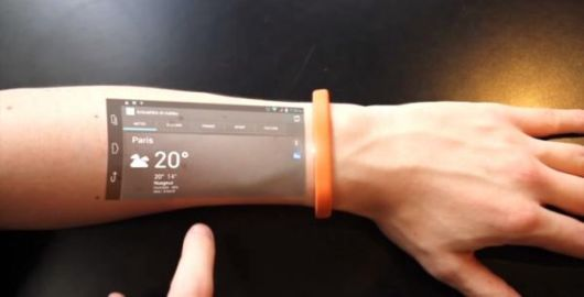 Make Your Skin The New Smartphone With Cicret Bracelet