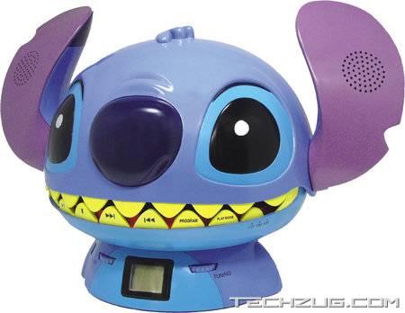Disney Stitch CD / Radio Player
