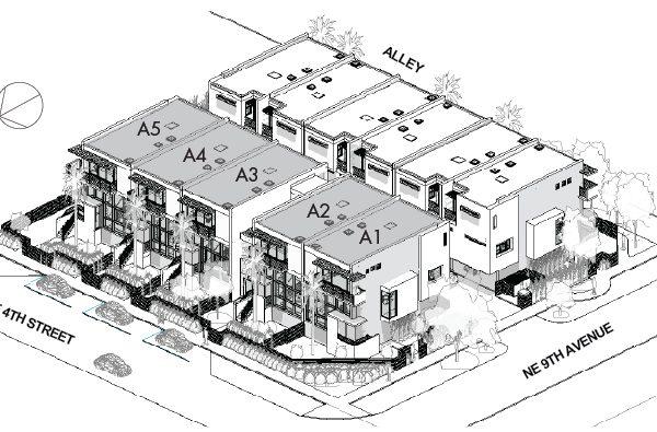 900PLACE Townhomes Victoria Park - Site A 3D