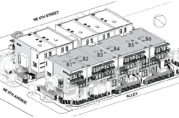 900PLACE Townhomes Victoria Park - Site B 3D