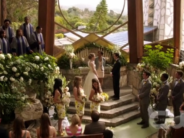 Max and Madisons Wedding  90210 Locations  Beverly Hills 90210 90210 and Melrose Place