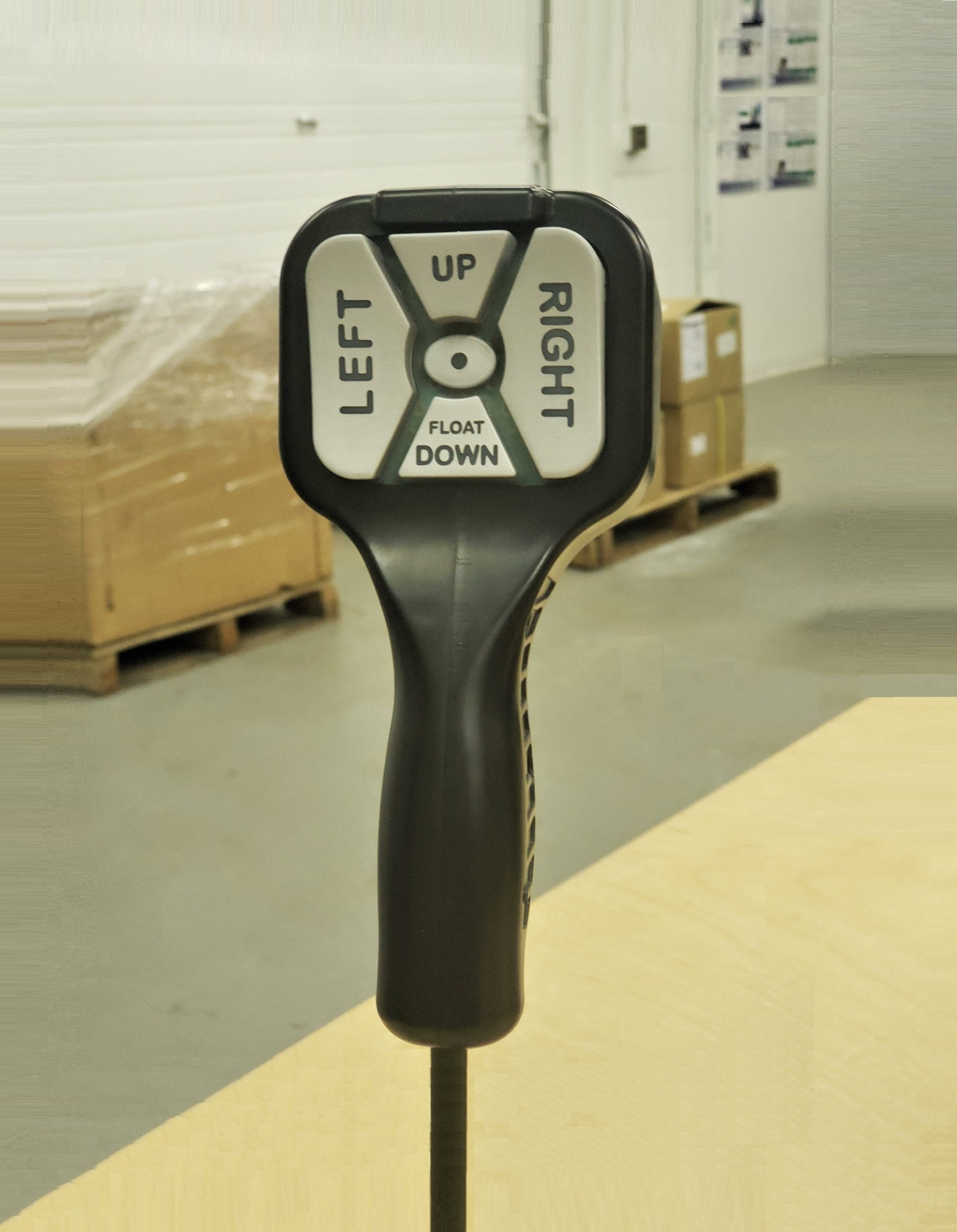 hight resolution of straight blade handheld snowplow control