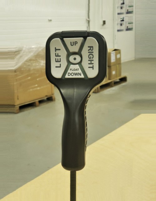 small resolution of straight blade handheld snowplow control