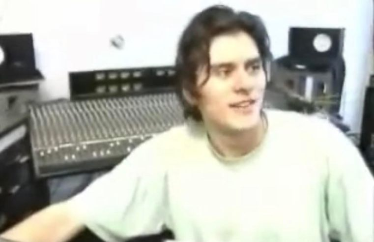 Check out this rare studio footage of CJ Bolland from 1991...