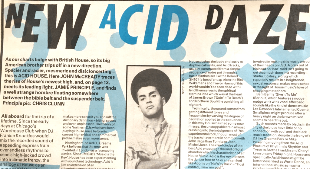 'Biting, severe and even unpleasant'... NME introduces indie kids to acid house [February 1988]