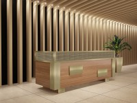 90 Degree Office Concepts: Modern Reception Area ...