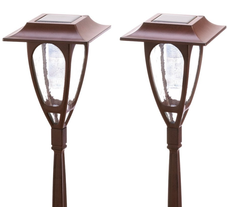 Solar Powered Carriage Lamps