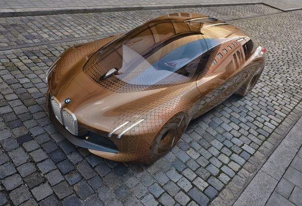 BMW Vision Next 100. Cortesía de BMW Group