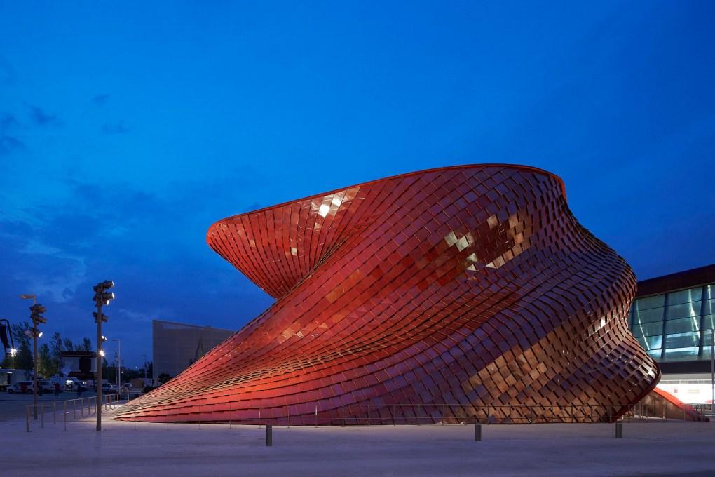 Pabellón Vanke por Studio Libeskind. Foto: Hufton+Crow
