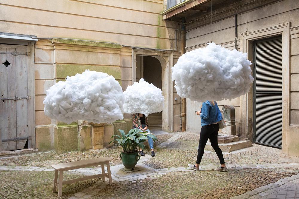 La tête dans les nuages Mickael Martins Afonso y Caroline Escaffre Faure Foto: Paul KOZLOWSKI
