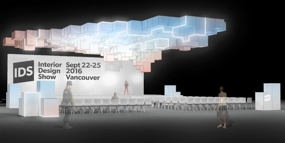 Rendering conceptual del escenario Caesarstone. Imagen cortesía de Stantec.