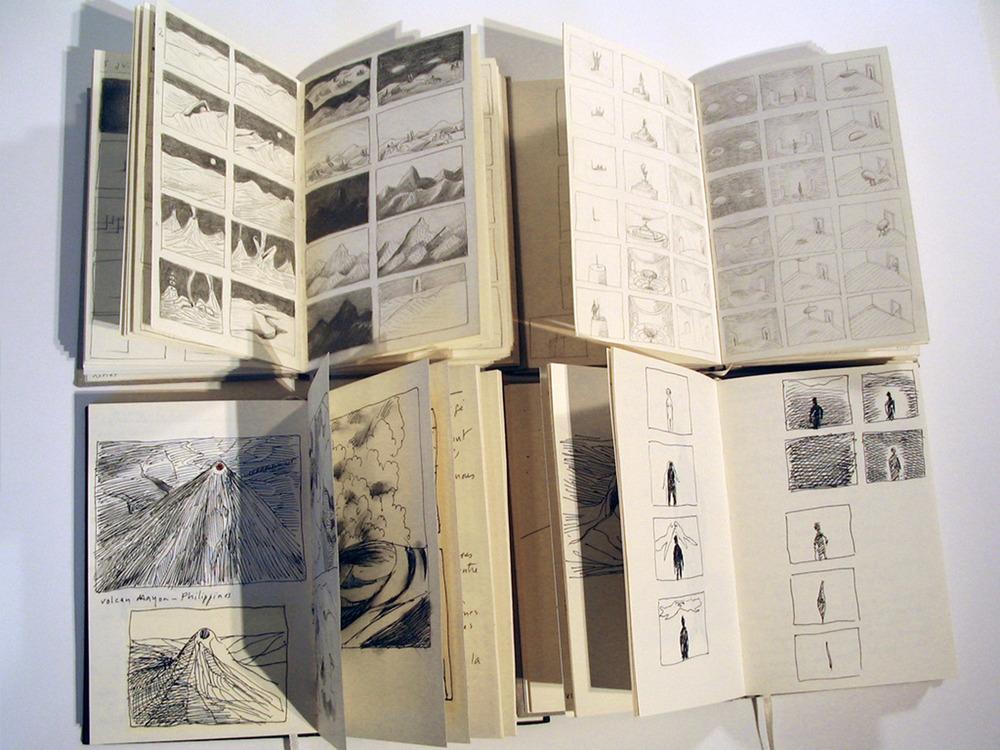 Libretas de Michèle Lemieux 2009-2012 Foto: Michèle Lemieux