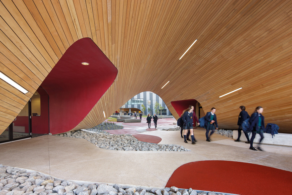 McBride Charles Ryan – The Infinity Centre, Penleigh and Essendon Grammar School Foto: John Gollings