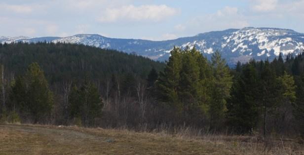 Erste Blicke auf das Uralgebirge