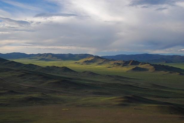 Letzter Abend in der Mongolei
