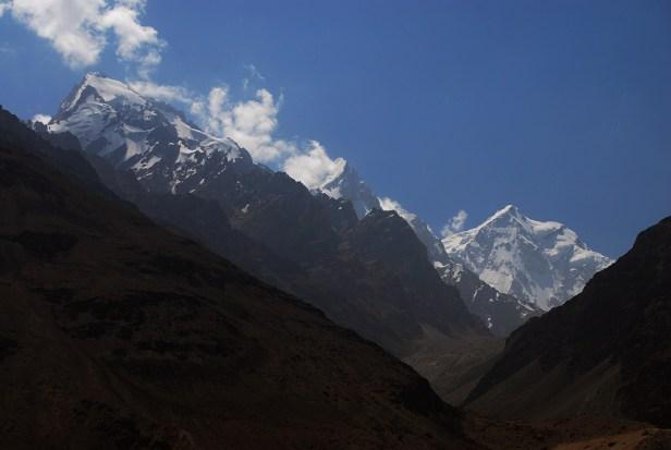 Gipfel des Hindu Kush