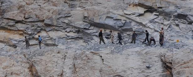 Straßenbauarbeiten in Afghanistan