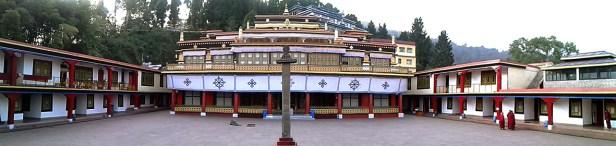 Das neue Rumtek Kloster, auch Dharmachakra Centre genannt