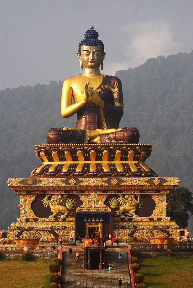 Buddha Park in Rawangla