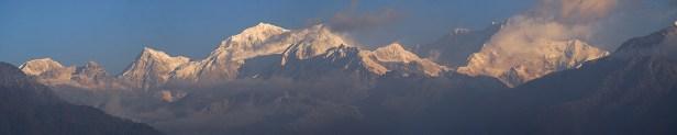 First Class View auf den Kangchendzonga