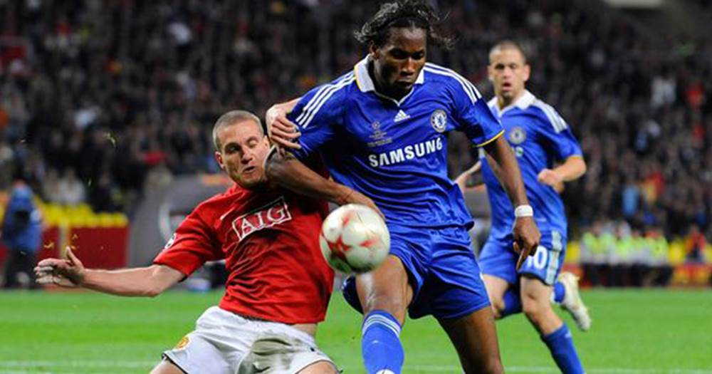 Vidic explains why Drogba was one of his toughest opponents ...