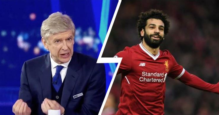 Image result for Wenger and Salah