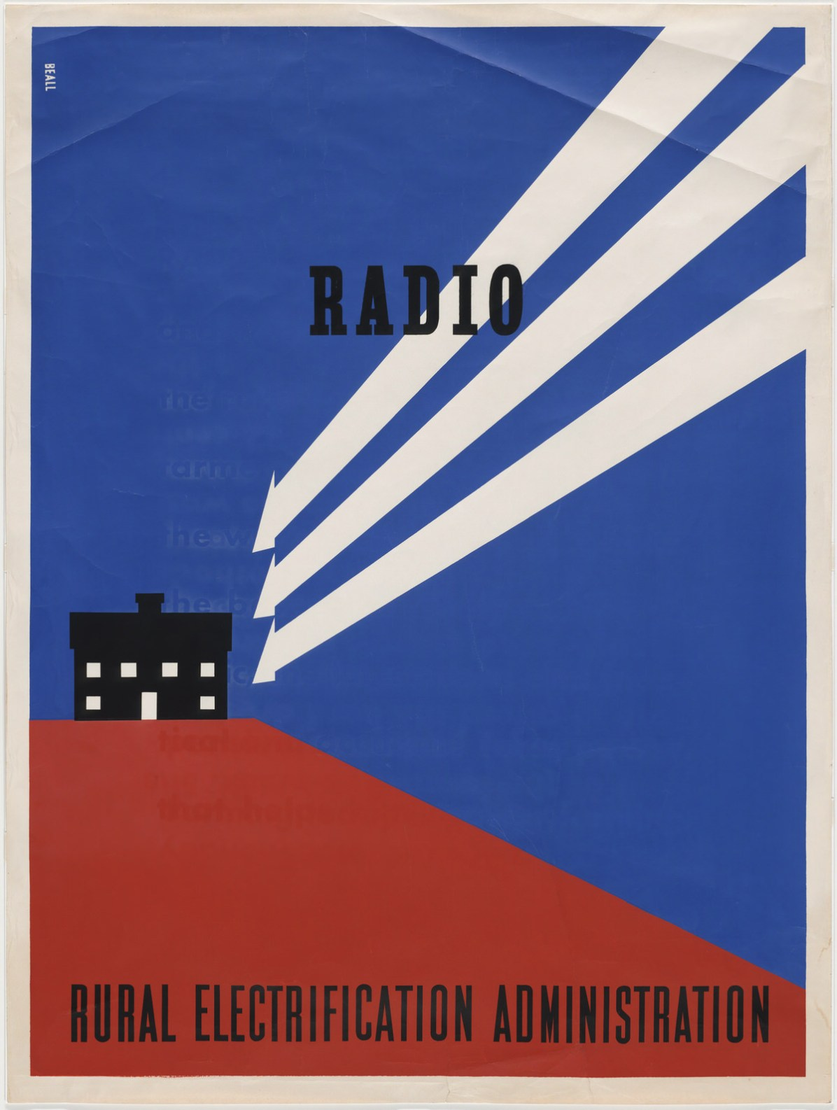 Beall, Radio – Rural Electrification Administration, 1937