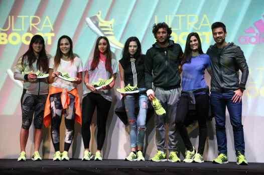 La Leona Noel Barrionuevo, los tenistas Paula Ormaechea y Pico Mónaco, la actual boost girl de adidas Cony Roncati y Delfi Chaves.