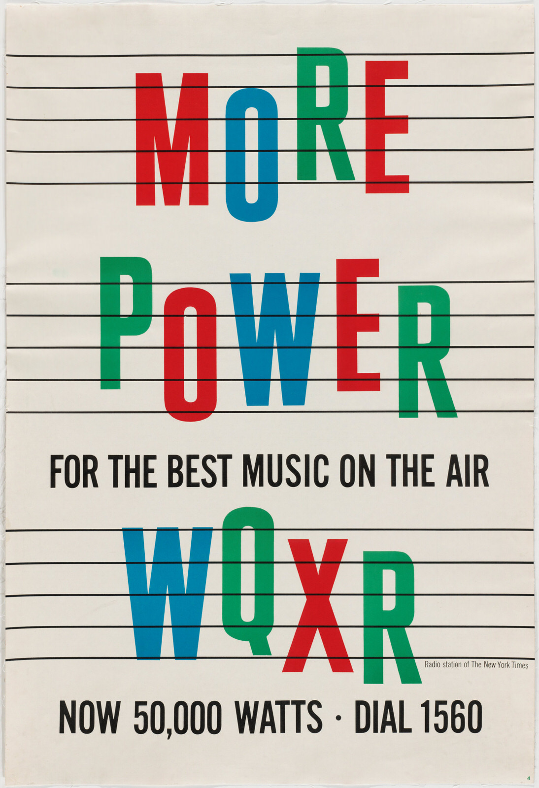Louis Silverstein, More Power for the Best Music on the Air, WQXR, 1955