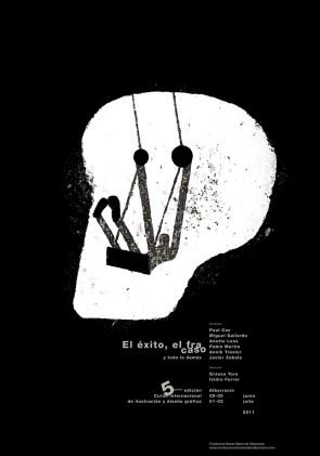 Cartel para el curso internacional de ilustración y diseño gráfico de Albarracín