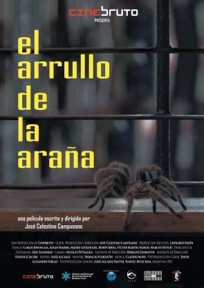 Afiche EL ARRULLO DE LA ARAÑA