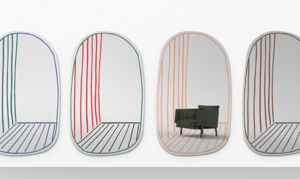 NEW PERSPECTIVE Mirror de Alain Giles para Bonaldo