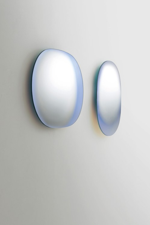 SHIMMER mirrors de Patricia Urquiola para Glass Italia