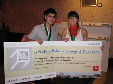 Gustavo Concha e Isabel Tapia, ganadores 2012