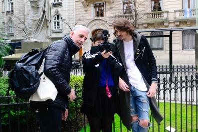 Gonzalo Fargas. Josefina Fogel Nuñez y Paul Fava. Foto: Adri Godis