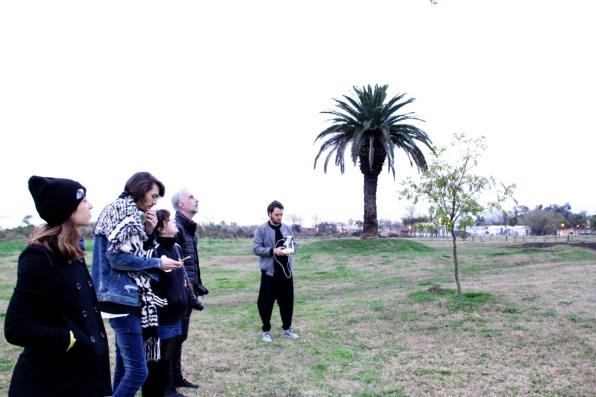 Paul Fava, Josefina Fogel Nuñez, Gonzalo Fargas y Martín Huberman. Foto: Adri Godis