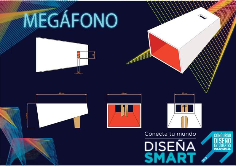 Megáfono de Franco Marianetti Scagliotti y María Belén Simionato – Arquitectura en Universidad de Mendoza.