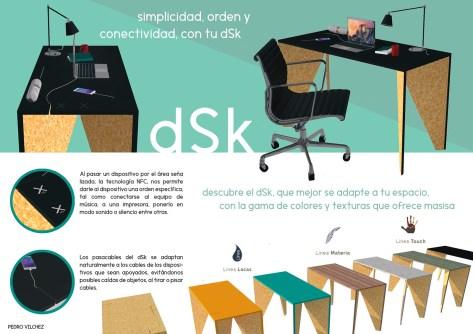 Escritorio dSk de Pedro Vilchez – Arquitectura en la Universidad de Belgrano.
