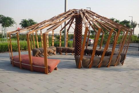 Instalación Nomad de Khalid Shafar