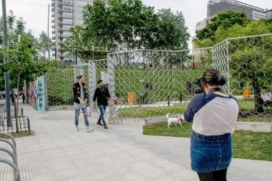 Paul Fava, Eddie Fite, Bobo y Josefina Fogel Nuñez. Foto: Adri Godis