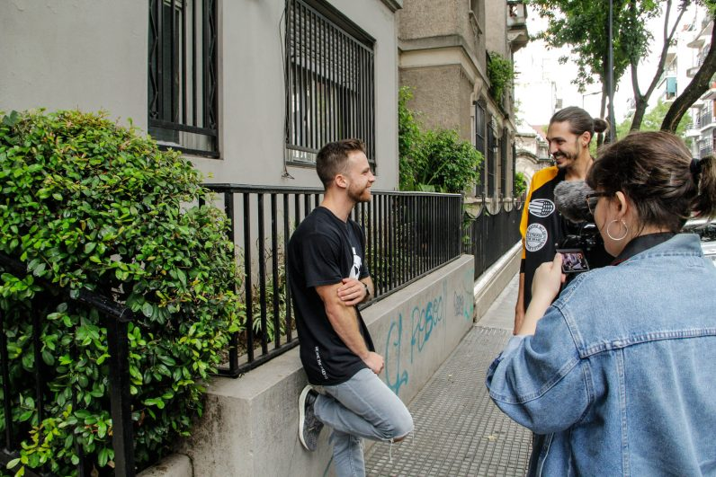 Entrevista Dustin Luke. Foto: Adri Godis