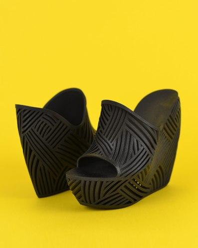Design by Janne Kyttänen. 3D Shoes. Foto: Sergio Urbina