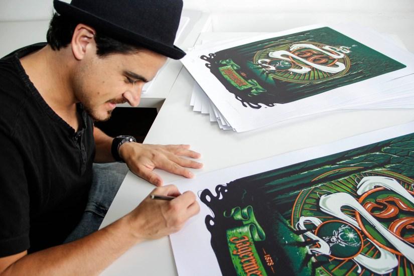 Serigrafía Panco Sassano. Foto: Adri Godis