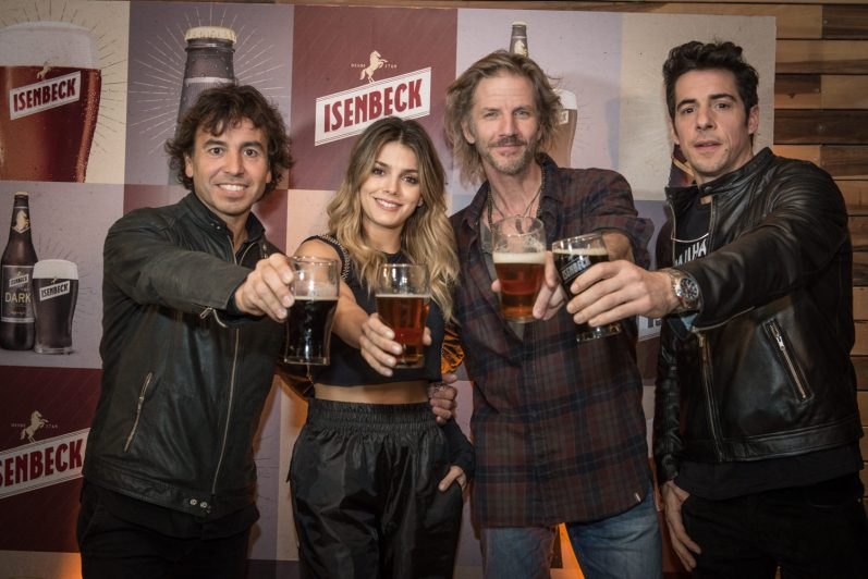 Gonzalito Rodríguez, Natalie Pérez, Facundo Arana y Esteban Lamothe
