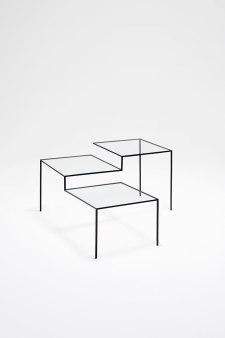 Nendo, table, thin black lines series, 2010. Foto: Masayuki Hayashi