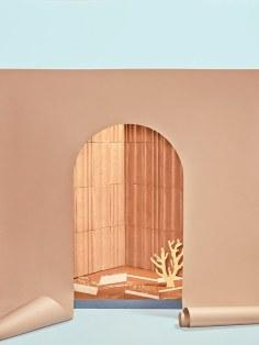 """Colección de revestimientos y pisos en cotto: """"Jardín a la italiana"""". """"Gonzaga"""", para Fornace Brioni. Foto: Mattia Balsamini"""