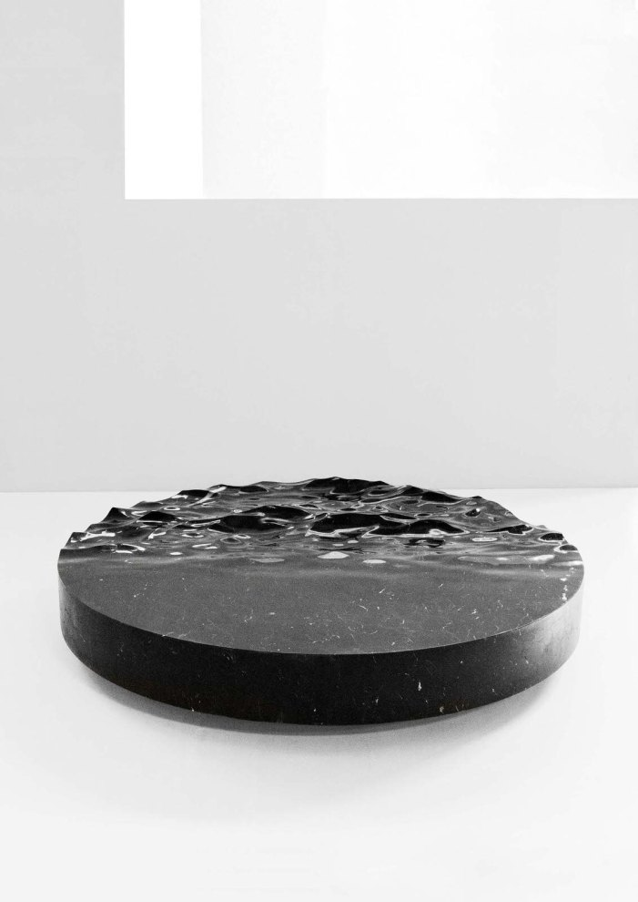Ocean Memories Circular Low Table XXL by Mathieu Lehannuer, 2017, courtesy of Carpenters Workshop Gallery
