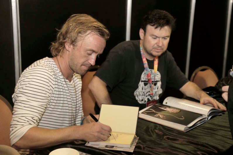 Tom Felton. Foto: Gentileza Argentina Comic-Con