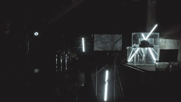 CheLA [Centro Hipermediatico Experimental Latinoamericano - BSAS] TRRUENO EXPERIMENTACION AUDIOVISUAL PERFORMATICA COLECTIVA SERIE N1 - INSTALACIÓN INTERACTIVA Y VISUALES + GRABACION 360