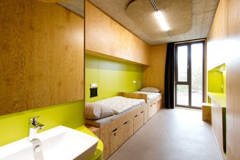 Youth Hostel by LAVA. Foto: Häfele, Studio Huber / DJH, Robert Pupeter